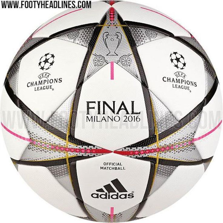 El balón de la Champions League siempre es una belleza. El esférico que rueda en las mejores canchas del futbol europeo sólo puede ser mejorado con el que se usará para la gran final del torneo. Según el sitio Footyheadlines, este sería la pelota que será pateada en Milán el 28 de mayo.