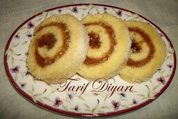 Elmalı Rulo Pasta   Yemek Tarifleri Sitesi   Oktay Usta, Pratik Yemekler
