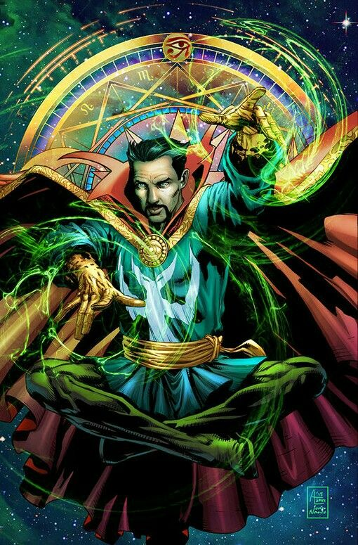 Dr. Strange if you like it look at my pinboard and follow me  Trin :)