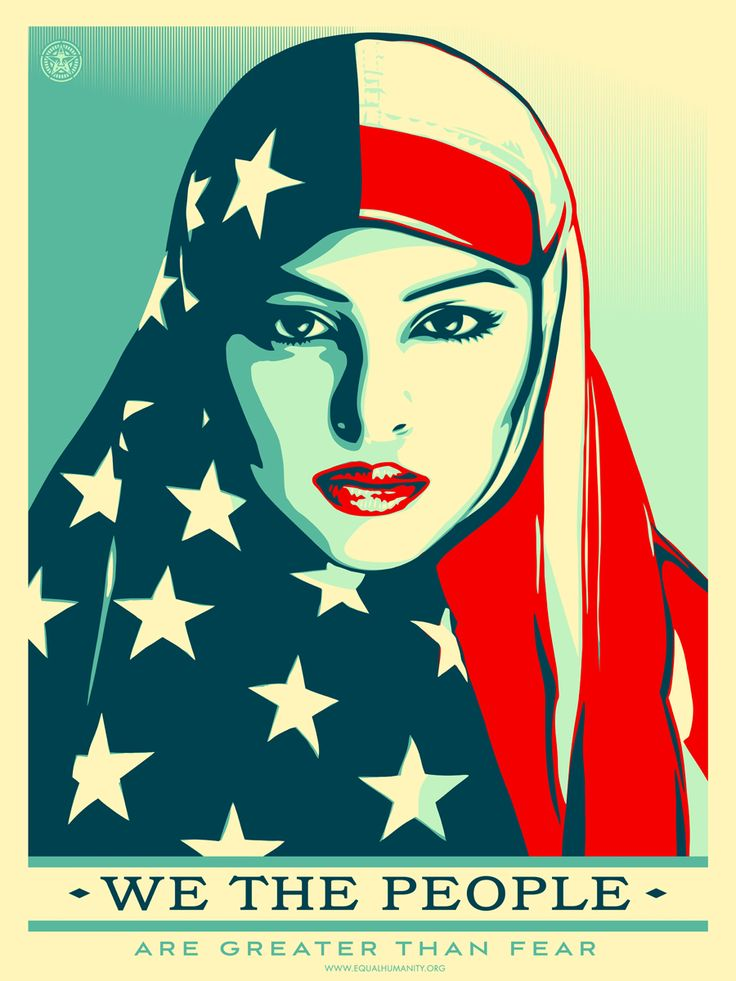 Women's Marches creativity by Shepard Fairey for The Amplifier Foundation