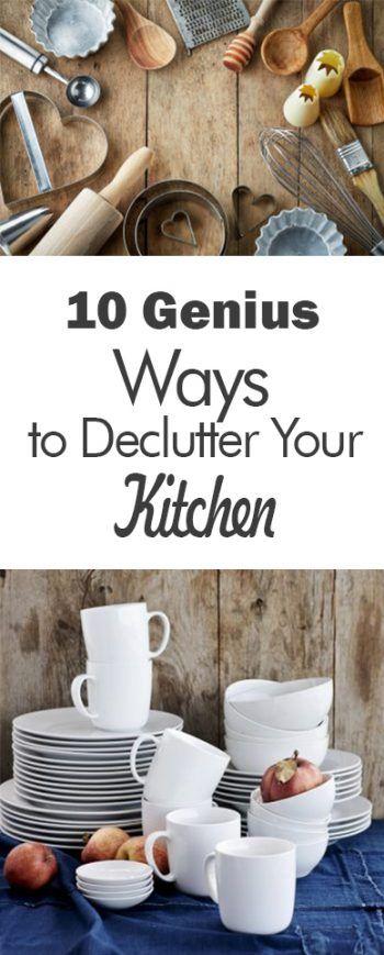 10 Genius Ways to Declutter Your Kitchen - 101 Days of Organization
