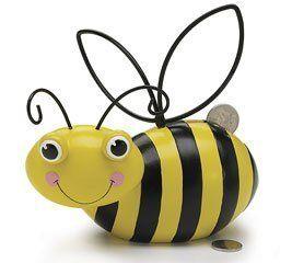 Adorable Ceramic Honey Bee/Bumblebee Piggy Bank Gift Boxed by Burton & Burton, http://www.amazon.com/dp/B004KEA4BW/ref=cm_sw_r_pi_dp_H0ovsb0CXACXG