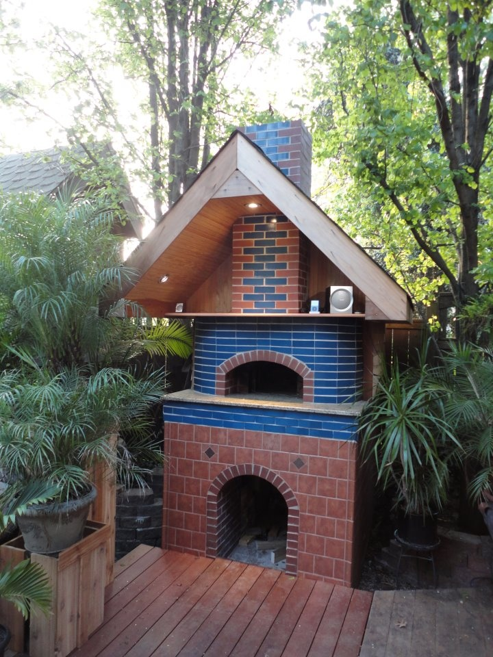 Outdoor oven......nice!  oven  Pinterest