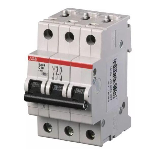 Abb S203p K20 Mini Circuit Breaker Ul 1077 3 Poles 20 Amps 2cds 283 001 R048 Ebay Industrial Fan Circuit Breakers