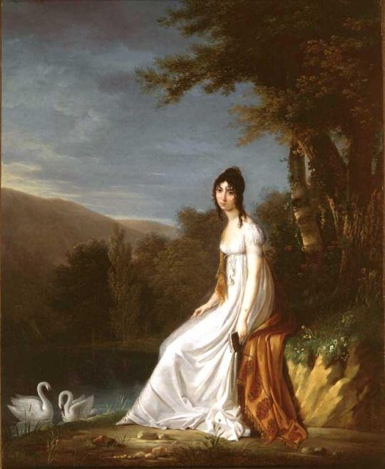 egardeimperial-blog  Aglaé Ney, l'épouse du maréchal Ney. Après l'exécution de son mari par les ordres de Louis XVIII en 1815, elle survécut à son mari de 39 ans.