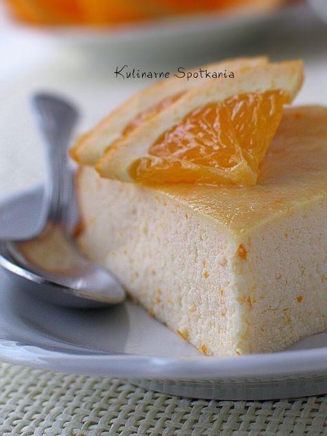 Pomarańczowy sernik z ricotty (ricotta with orange dessert)