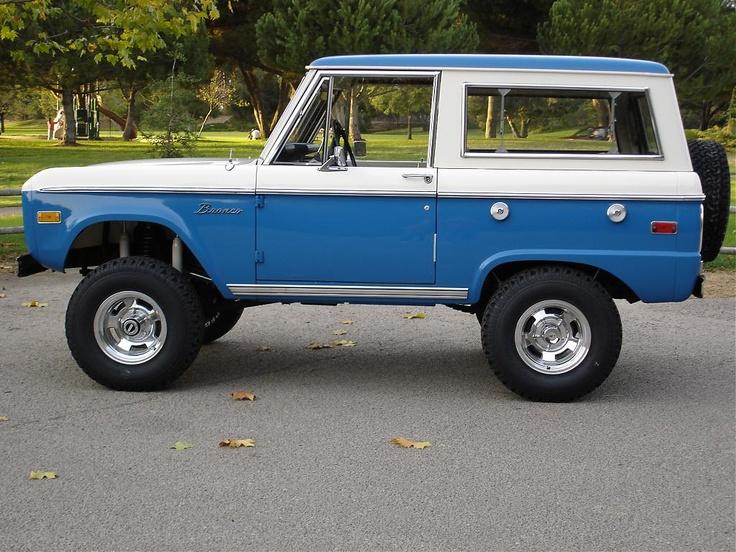Classic Uncut Ford Bronco