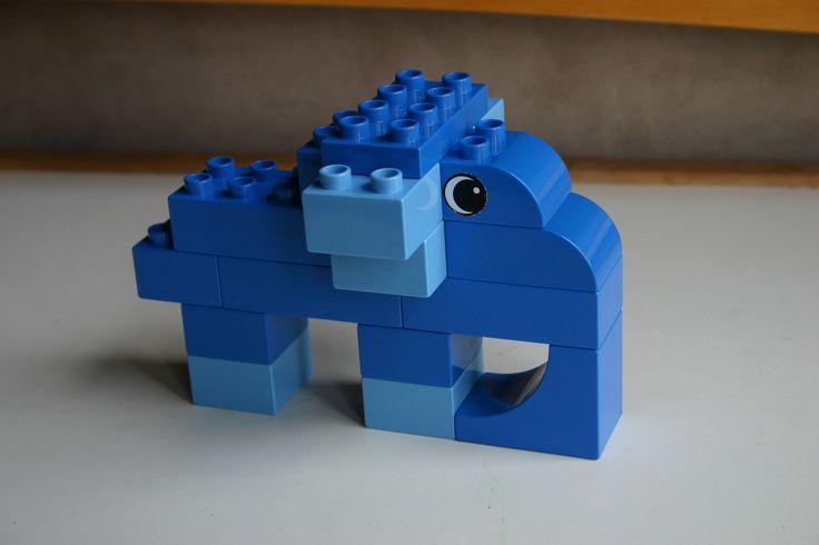Duplo block Elephant v2