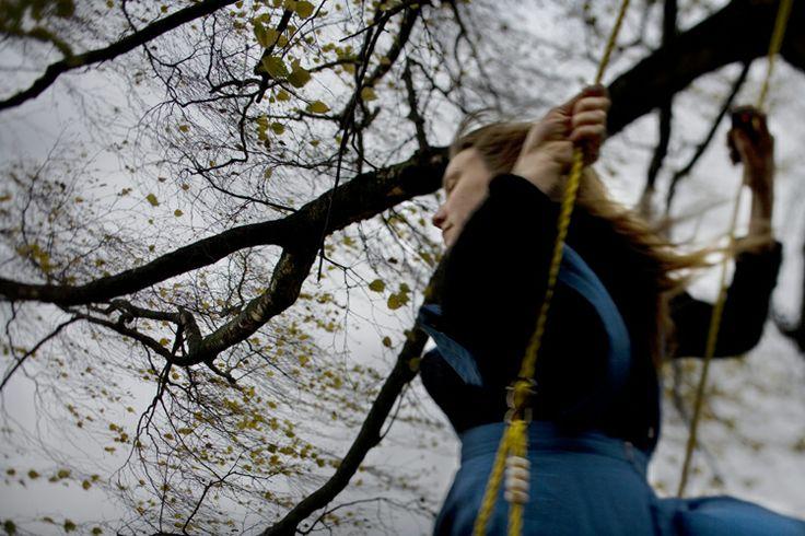 SHE IS/DUST CATCHES LIGHT : Marie Sjøvold