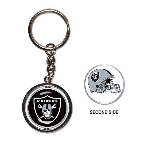 Oakland Raiders Spinner Keychain (WC)