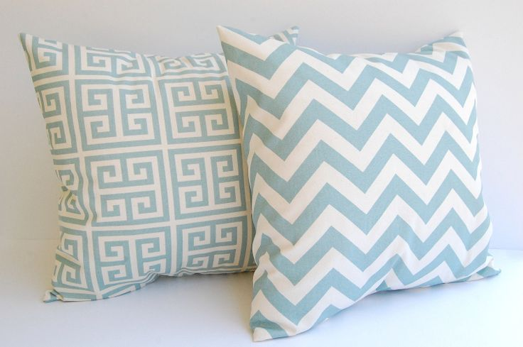 Throw pillow covers set of two 18 x 18 Greek by ThePillowPeople