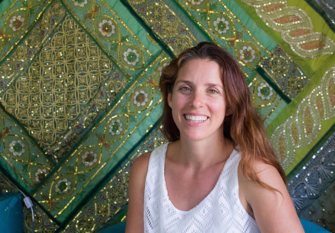 Meet Esther, our homestay host  in Downtown Santa Barbara, California.