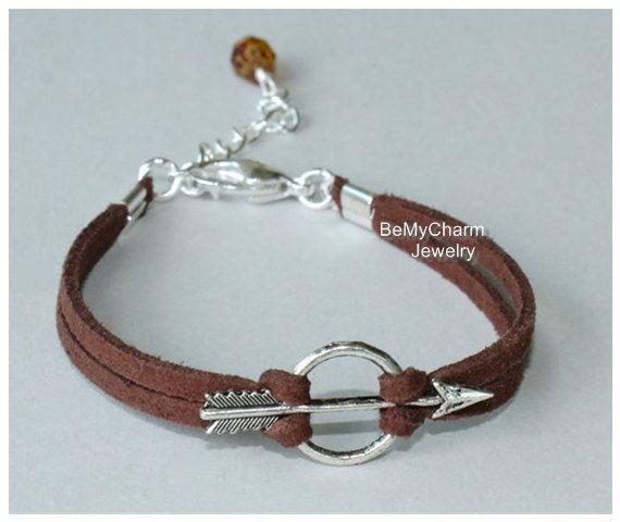 Bracelet à breloques en forme de nœud et de flèche en argent – CHOCOLAT …   – Bileklikler