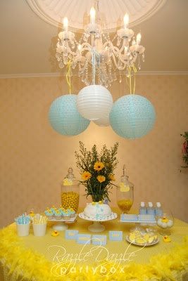 rubber duck baby shower images | The Rubber Ducky theme is absolutely adorable and great for boys or ...