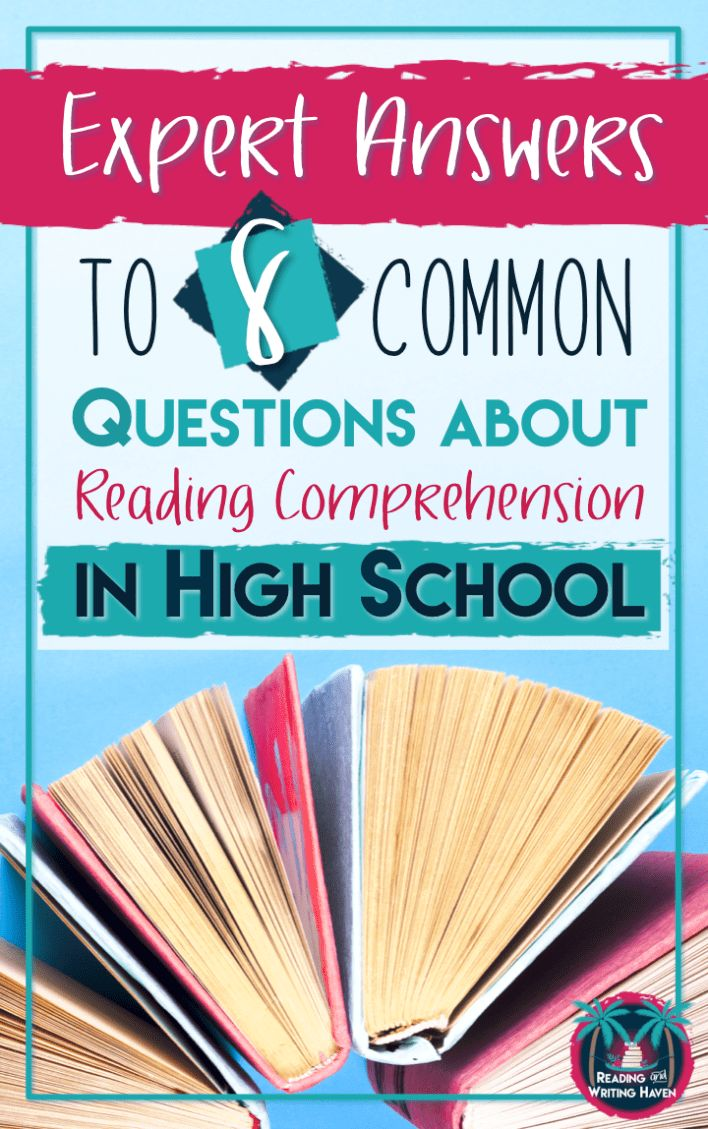 HOW TO ADDRESS GAPS IN READING COMPREHENSION IN HIGH SCHOOL by Melissa Kruse Confused about how to teach reading in high school? Here are answers you can trust from an expert in the field. Some of the most pressing questions secondary teachers have about addressing reading comprehension in high school: demystified.