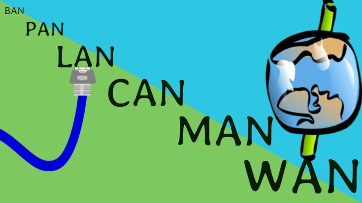 What Is The Difference Between LAN, WAN, MAN, CAN, VPN, BAN, NAN, SAN?