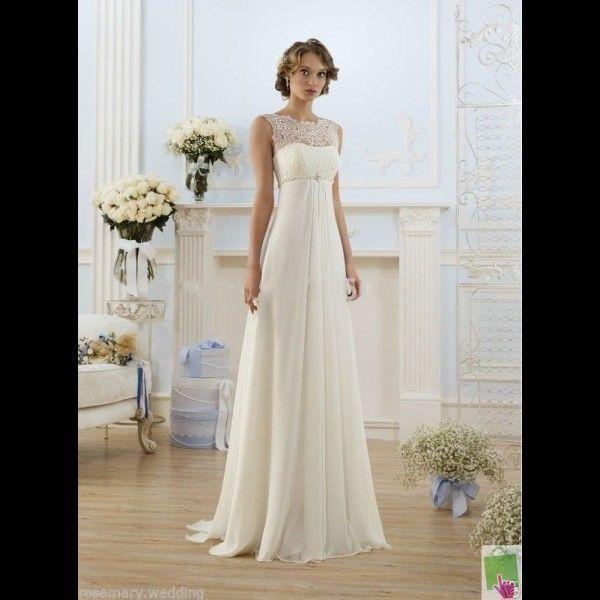 robe de mariée taille empire