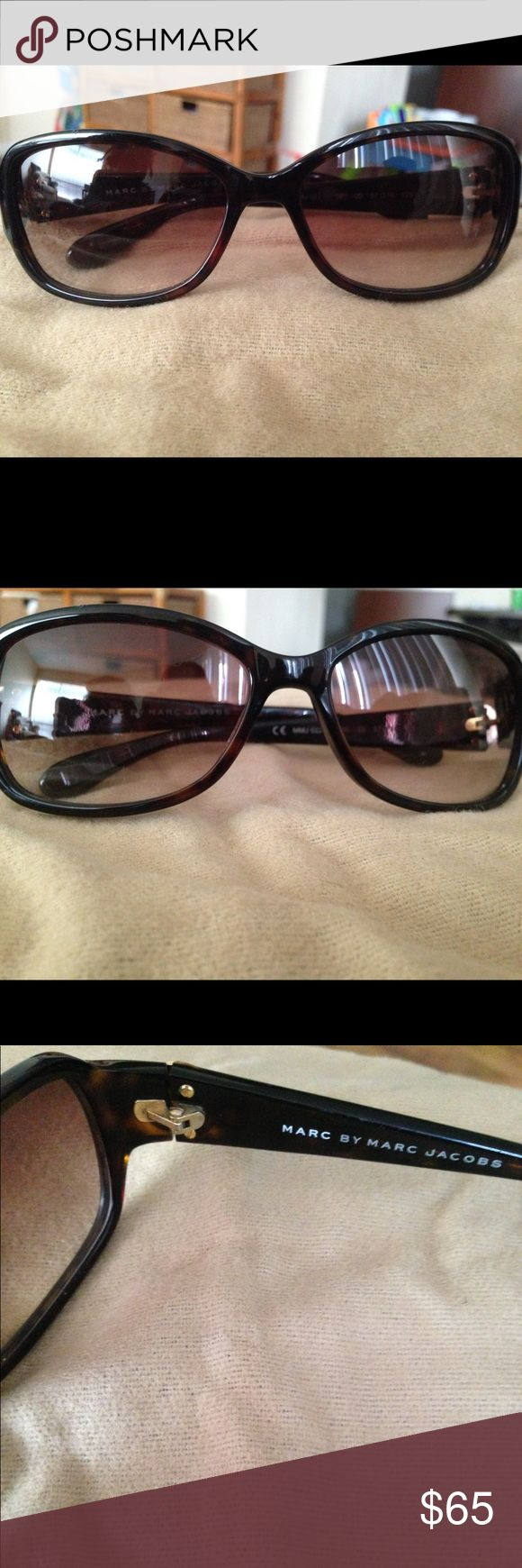 Marc by Marc Jacobs Tortoise Shell Sunglasses Nice barely ever worn pair of Marc Jacob Women's Sunglasses Marc By Marc Jacobs Accessories Sunglasses