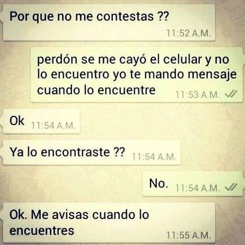 conversaciones absurdas en whatsapp . Más en www.lasfotosmasgraciosas.com