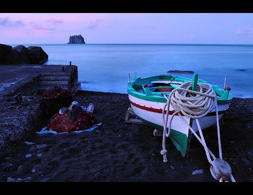 Stromboli  province of Messina Sicily italy