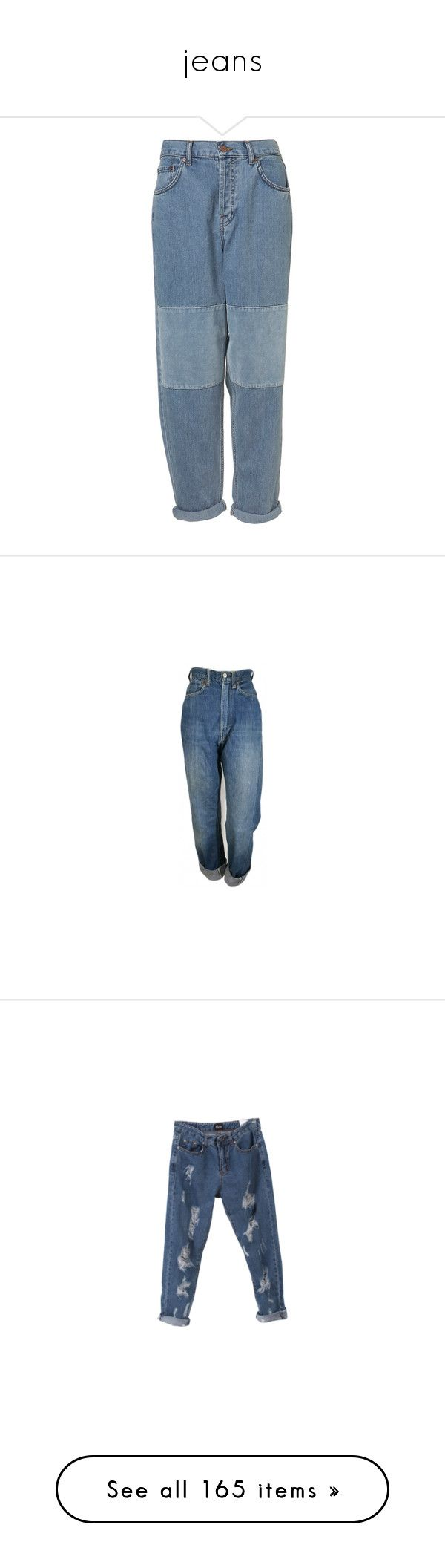 """""""jeans"""" by s8tan ❤ liked on Polyvore featuring pants, bottoms, jeans, trousers, denim, velvet jeans, slouch jeans, slouchy jeans, blue velvet jeans and rolled up jeans"""