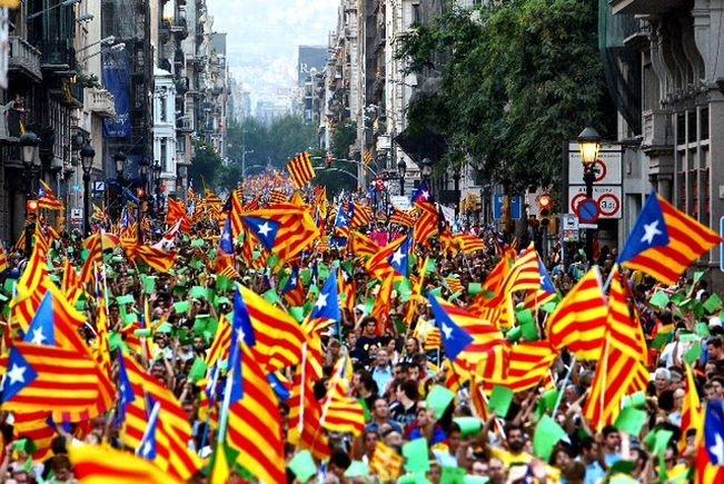 Barcelona, 11 de Setembre per l'independencia de Catalunya