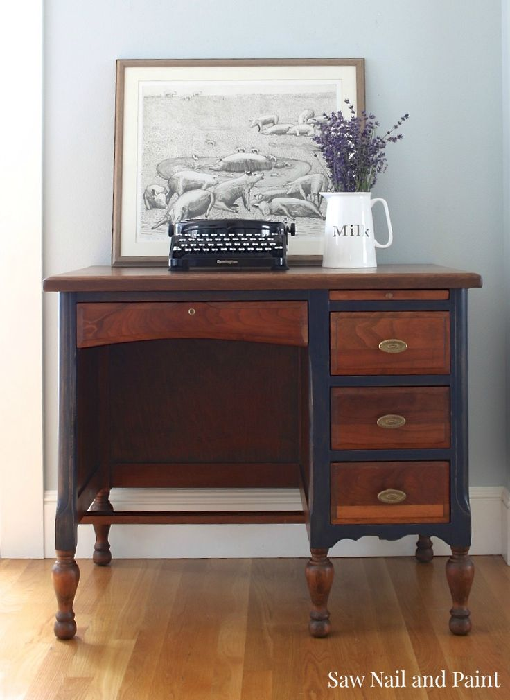 17 best ideas about desk redo on pinterest vintage desks for Furniture refinishing seattle
