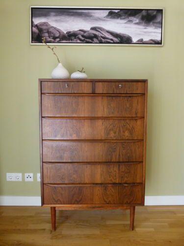 highboard kommode danish design 60 39 er 70 39 er jahre retro in in ahrensburg ebay 60er 70er. Black Bedroom Furniture Sets. Home Design Ideas