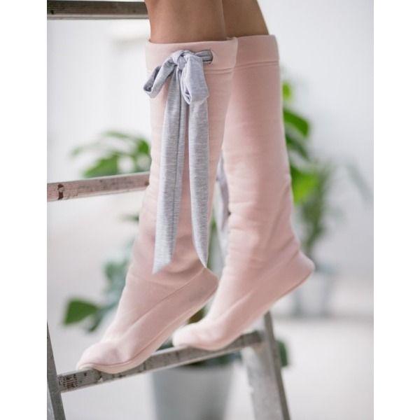 Socken Powder Pink