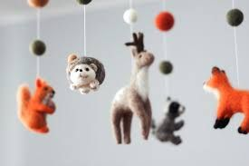 Image result for needle felted mobile