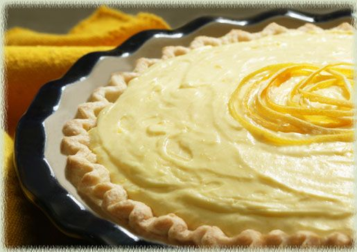 Meyer #Lemon Custard Cream #Pie | Recipes | Pinterest