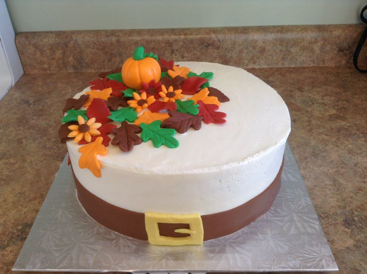 17 Best images about Thanksgiving Cakes on Pinterest ...