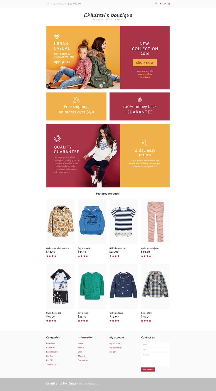 Baby Store Responsive Landing Page Template #58301 http://www.templatemonster.com/landing-page-template/baby-store-responsive-landing-page-template-58301.html
