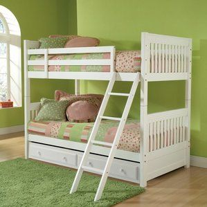 Portia Twin over Twin Bunk Bed with Trundle