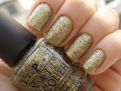 Best Voted Opi Nail Polish Lacquer Gold Glitter