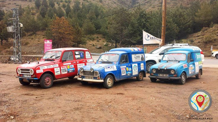 """Fin de l'aventure pour """"Les Fous Allier"""" qui ont franchi Marrakech après avoir parcouru plus de 6000 km dans le désert. Ils se classent 1123ème de cette 20ème édition du Raid 4L Trophy 🚙 Un grand bravo à eux !"""