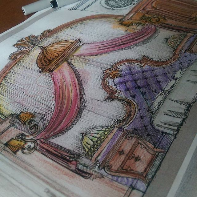 #ARCHITECTURE #SKETCH #ARCHITECTURE_HUNTER #BEDROOM