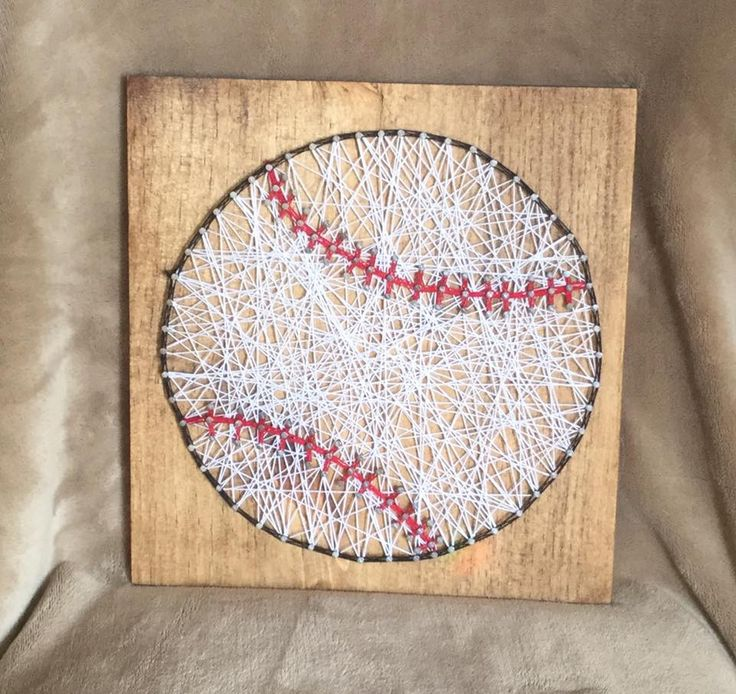 Let's Play Ball String Art