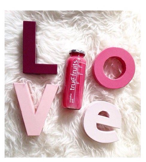 #love #pink #truefruits