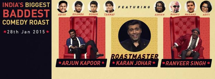 All India Bakchod ( AIB ) Knockout The Roast Featuring Ranveer Singh, Arjun Kapoor, Karan Johar