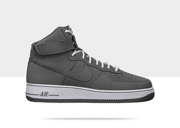 Nike Sportswear Air Force 1 07 - Chaussure Haute - Noir De Virginie