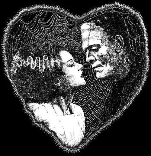 Bride of Frankenstein artwork.