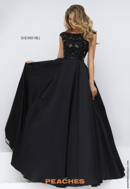 Sherri Hill 32359 - Black