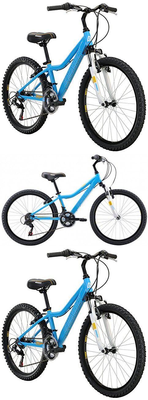 "Diamondback Bicycles Lustre 24 Kid's Mountain Bike, 24"" Wheels, Blue"