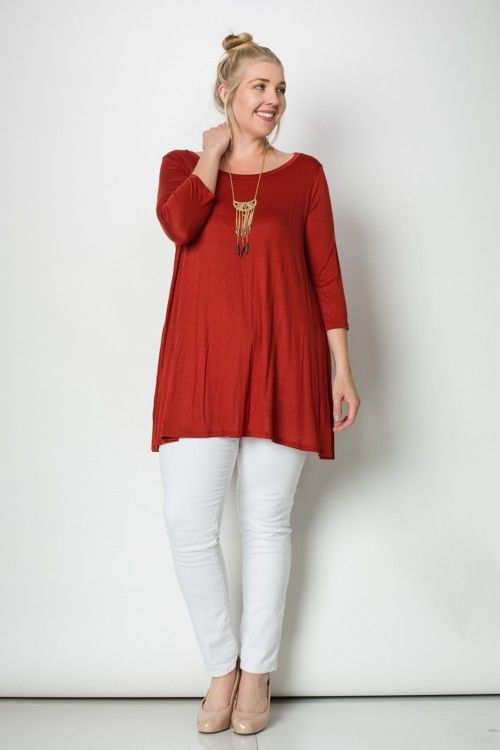 A Line Tunic Plus Size Top Plus Size Tops Plus Size And