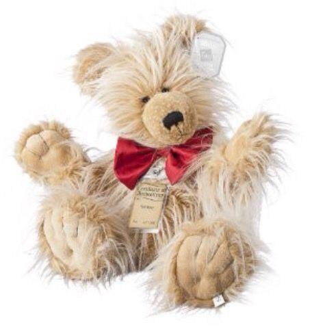 Limited edition bear!  #teddybearpicnic #teddy #bear #luxury #limitededition #toys   Little You Toy Shop - Barnstaple - North Devon. www.littleyoutoyshop.com