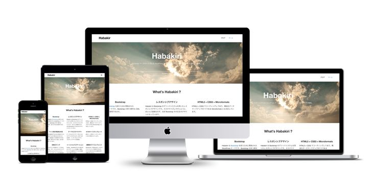 HabakiriBootstrap ベースのシンプルな WordPress テーマ。レスポンシブ、多くのカスタマイズ機能。 DOWNLOAD GitHubHabakiri は ...
