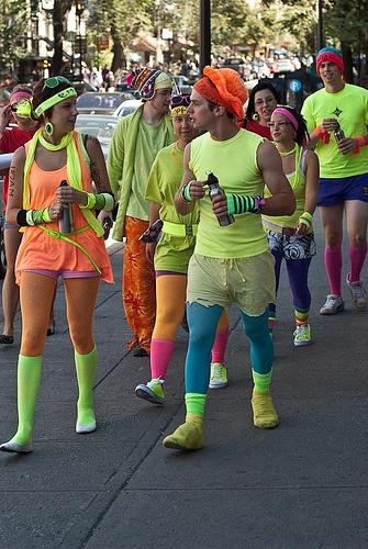 original neon night outfits lights