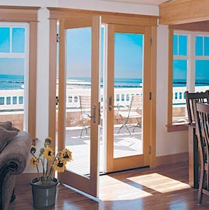 I want this french doors to open to my beach. Google Image Result for http://www.brennanwindows.com/images/doors_21.jpgBeach House, French Interiors, Book Worth, French Doors, Patios Doors, Dreams House, Gardens Doors, Doors Booksworthreading1, French Kitchens