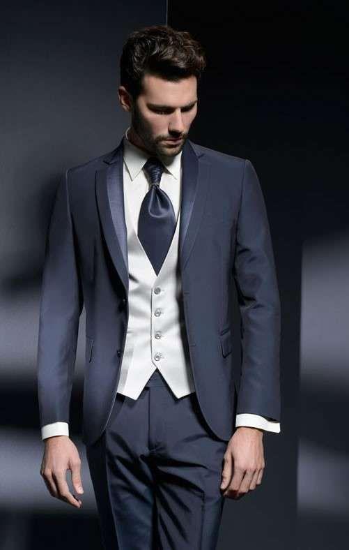 Vestito blu notte uomo boss